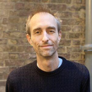 A portrait of Stuart Heyes, Head of Production at Fuel