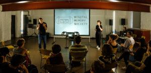 Digital Memory Society screen